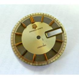 Universal Genève Unisonic dial