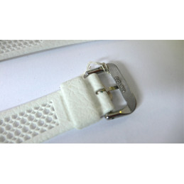 Bracelet PLAYA blanc 18mm