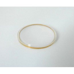 TISSOT Glass 29.70mm - golden ring