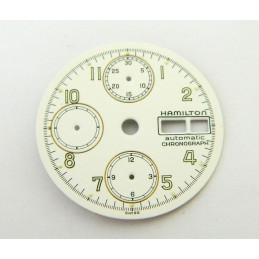 HAMILTON dial for valjoux 7750 chronograph - 29mm