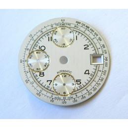 Cadran pour chronographe Valjoux 7750 - 29.50mm