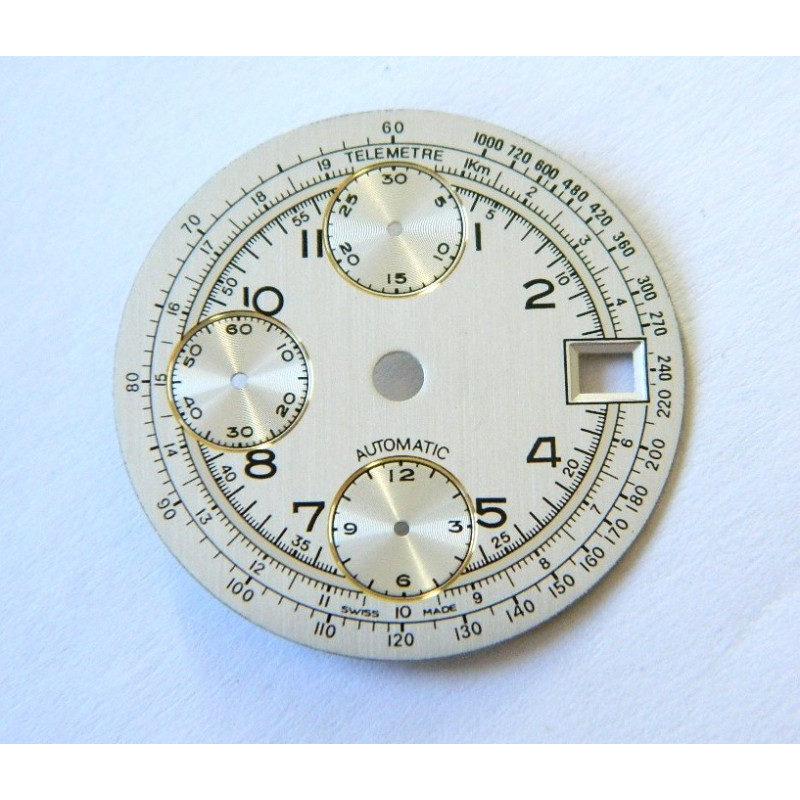Dial for Valjoux 7750 chronograph - 29.50mm