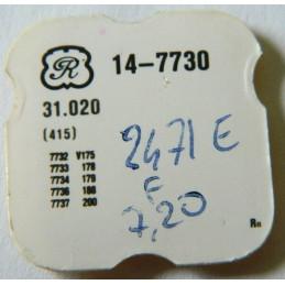 VALJOUX 7730 Rachet wheel