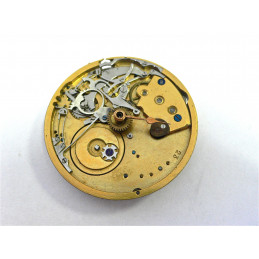 Pocket watch movement repeater chronograph
