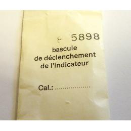 Bascule de l'indicateur VALJOUX 7733 - pièce 5898
