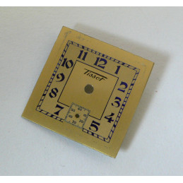 cadran Tissot carré ancien -19,3mm