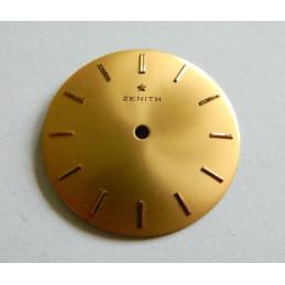 Cadran doré ZENITH 31.40 mm