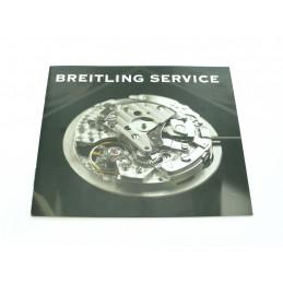Breitling manuel service pour Chronomat