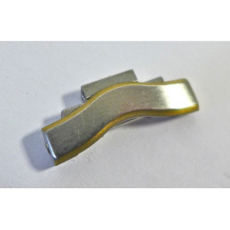 """Maillons EBEL """"Classic man"""" or/acier - 19,6mm"""