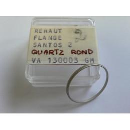 Réhaut Santos 2 Quartz rond GM Cartier