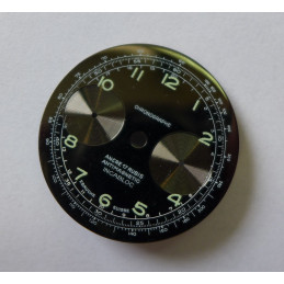 Cadran chronographe valjoux - diamètre 32 mm