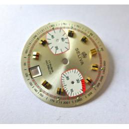 Cadran chronographe valjoux - diamètre 30.68 mm