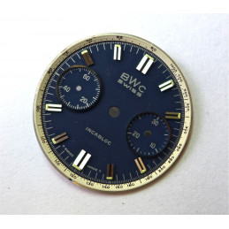 Valjoux chronograph dial - diameter 21.23 mm
