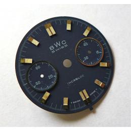 Valjoux chronograph dial - diameter 31.05 mm