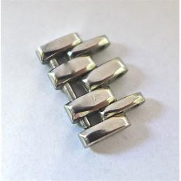 Maillon acier JAEGER LECOULTRE Reverso homme classic 15,2 mm
