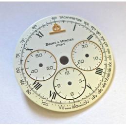 Baume & Mercier chronograph dial