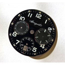 Breguet TYPE 20 lady chronograph dial black