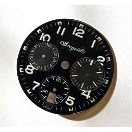 Cadran Breguet Type 20 chrono date femme