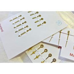 Set of hands Breitling ref 4002 650