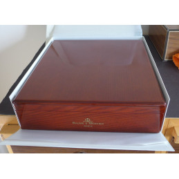 Baume & Mercier wooden watch box