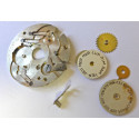 Spare parts for cal MOVADO 475 triple date