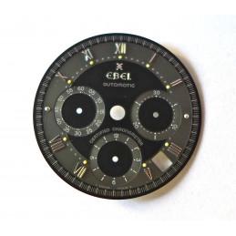 cadran bi-ton de chronographe EBEL pour mouvement El Primero