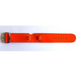 leather grey strap LIP - 20 mm - for TALLON chronograph