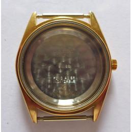 golden steel box UNIVERSAL Genève 33mm