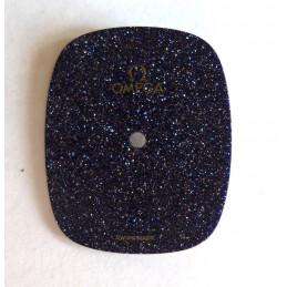 Omega spangled blue dial