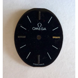Omega black lacquered dial