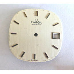 white Omega Automatic dial