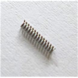 Lemania chronographe 15TL - Ressort de piston ref 5074a