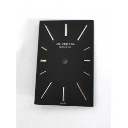 Cadran UNIVERSAL GENEVE carré 24,7mm