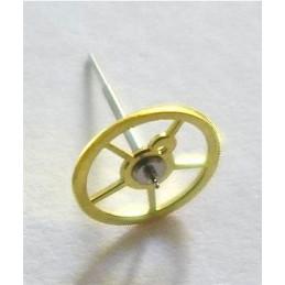 Lemania chronographe 15TL - Roue de centre ref 5064/5065