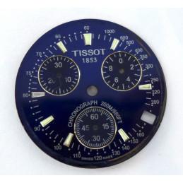 Cadran Tissot chronographe 1853 quartz 31,16mm