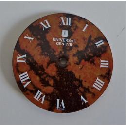 Universal Genève dial - diameter 27.55 mm