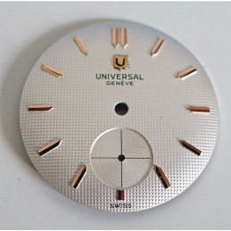 Universal Genève dial - diameter 26.48 mm