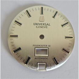 cadran Universal Genève Polerouter diametre 28 mm
