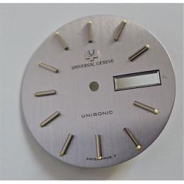 cadran Universal Genève Unisonic diametre30.99 mm