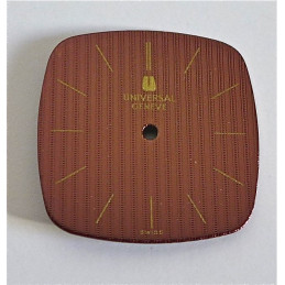 Square UNIVERSAL GENEVE dial 20mm