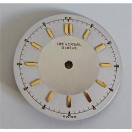Universal Genève dial - diameter 24.48 mm