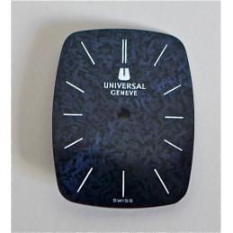 Rectangular UNIVERSAL GENEVE dial