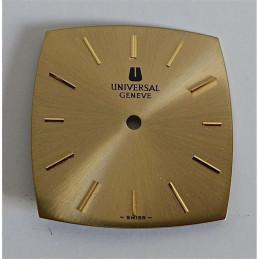 Cadran UNIVERSAL GENEVE rectangulaire