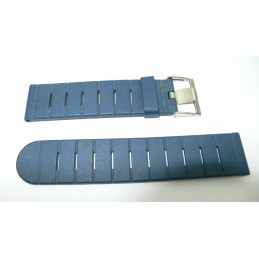 Lip dark blue rubber strap