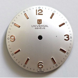 Cadran Universal Genève - diamètre 27.40 mm