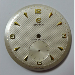 Cyma Cymaflex dial diameter 29.47 mm