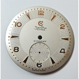 Cyma Zentra dial diameter  29.55 mm