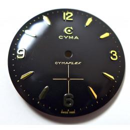 Cyma Cymaflex  dial diameter 29.53 mm