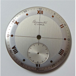 Cadran Chronometre Cyma diametre 30.47 mm