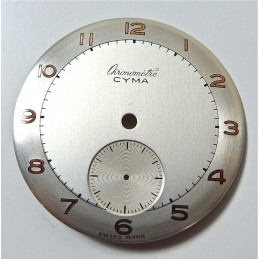 Cadran Chronometre Cyma diametre 30.47 mm